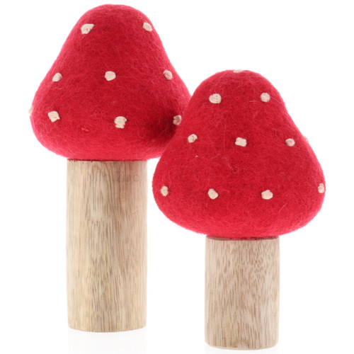 Papoose Toadstool Set