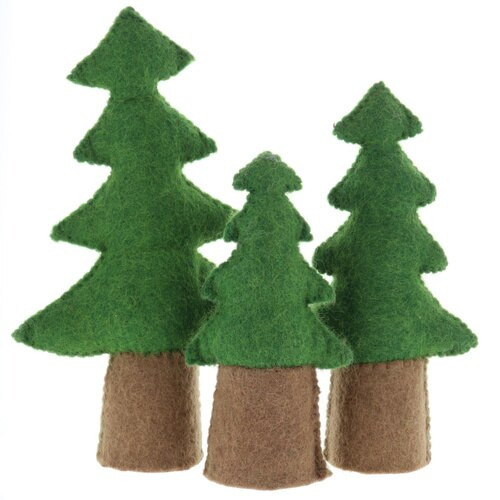 Papoose Pine Trees 3pc
