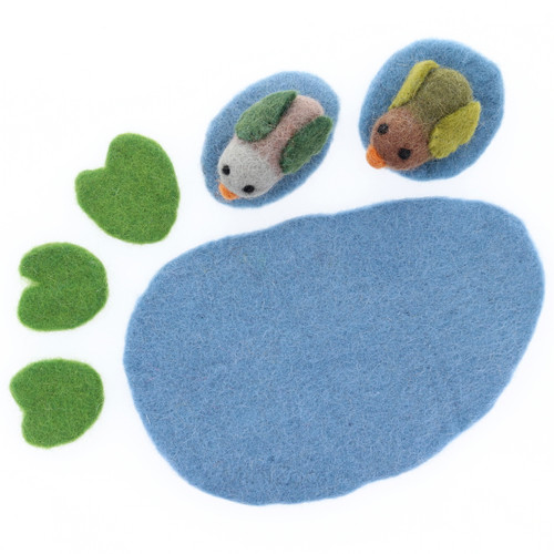 Papoose Pond with Ducks 6pc