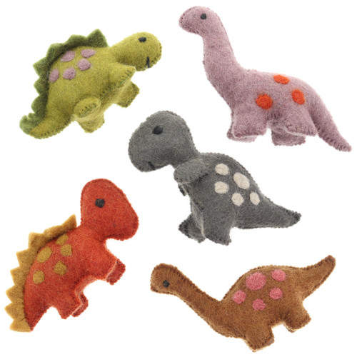 Papoose Natural Dinosaurs 5pc