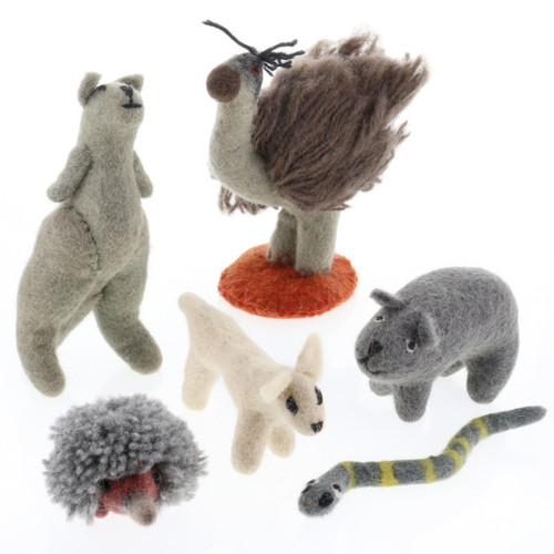 Papoose Australian Animals 6pc
