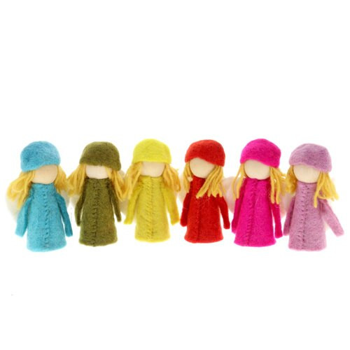 Papoose Bright Elves 6pc