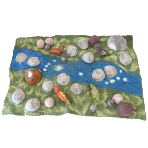 Papoose Jurassic Mat with dinosaurs (sold separately)