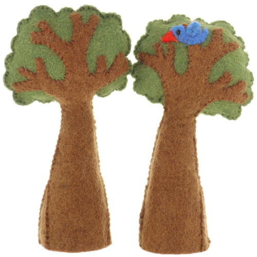 Papoose Trees with Bird