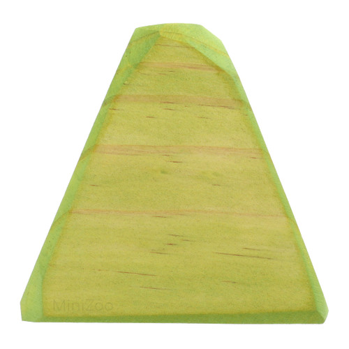 Let Them Play Wooden Tree Green