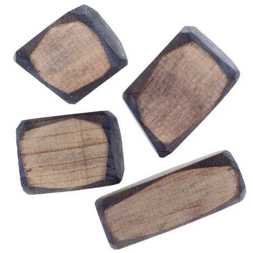 Let Them Play Wooden Boulders 4pc