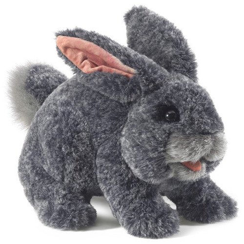 Folkmanis Grey Bunny Rabbit Puppet
