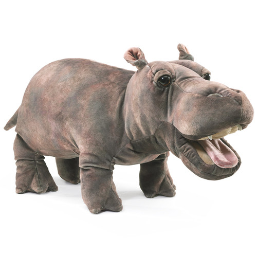 Folkmanis Baby Hippo Puppet