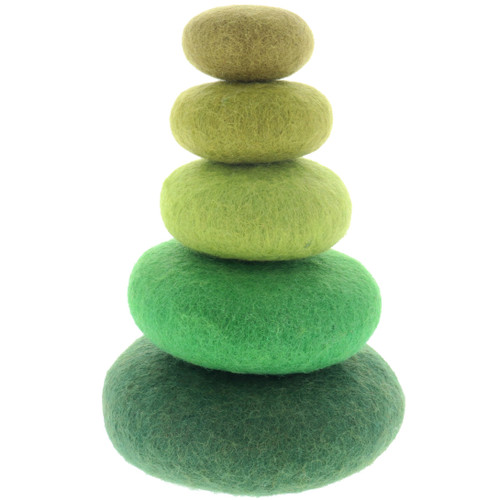 Papoose Stacking Set Green 5pc