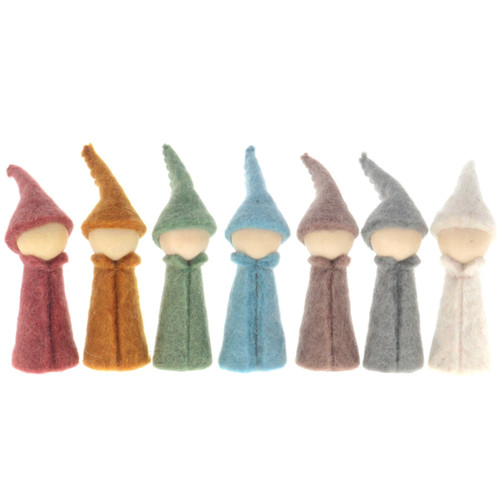 Papoose Earth Gnomes 7pc