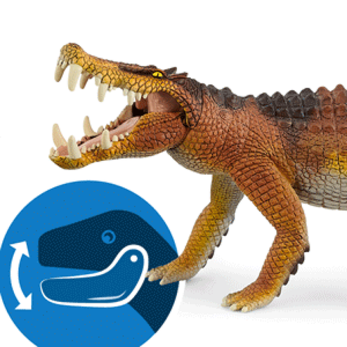 Schleich Kaprosuchus moveable jaw
