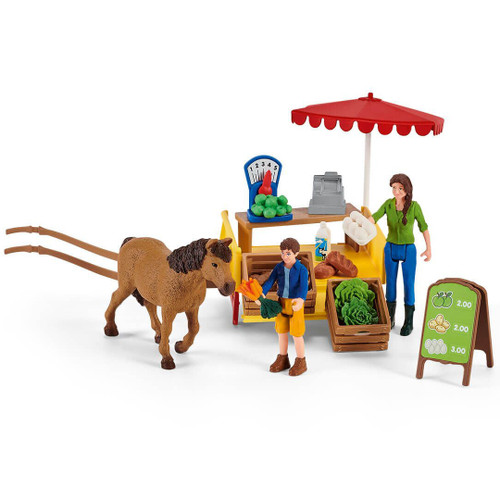 Schleich Mobile Farm Stand