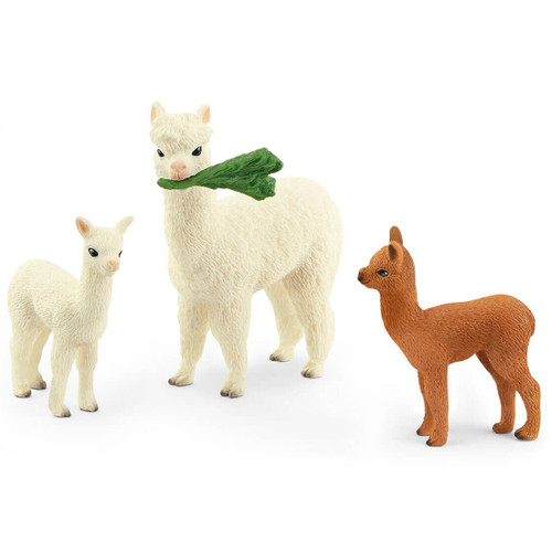 Schleich Alpaca Family