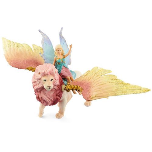 Schleich Elf On Winged Lion