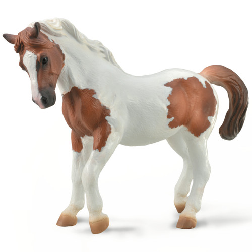 CollectA Chincoteague Pony Chestnut Pinto