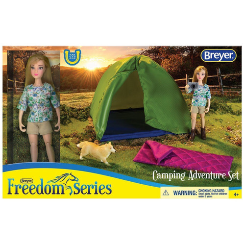 Breyer Classics Camping Adventure Set box