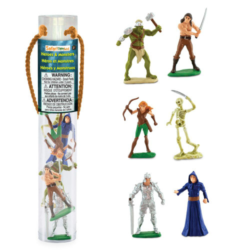 Safari Ltd Heroes and Monsters Designers Toob