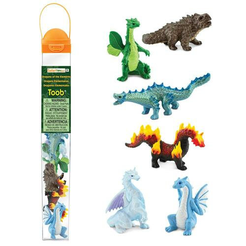 Safari Ltd Dragons of the Elements Toob