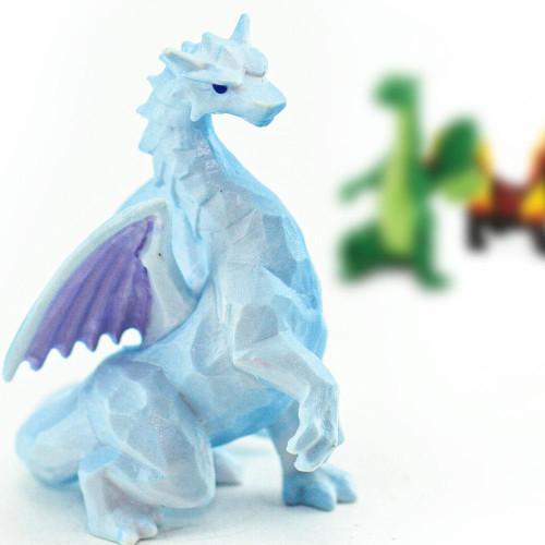 Safari Ltd Dragons of the Elements Toob mini crystal dragon
