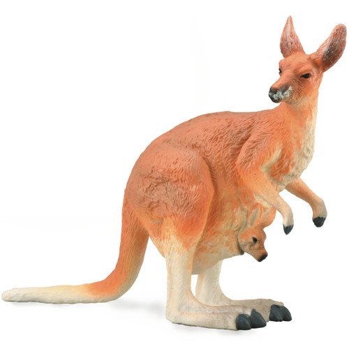 CollectA Red Kangaroo Female with Joey