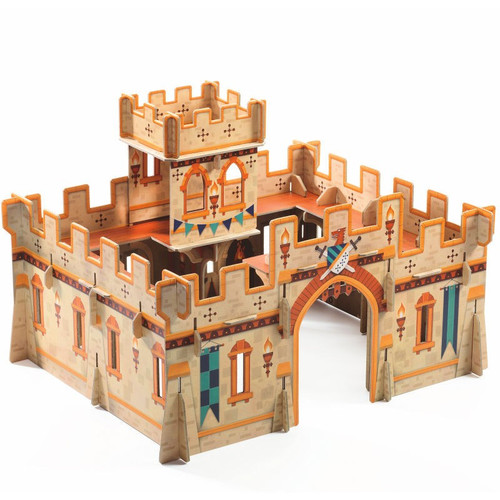 Djeco Medieval Castle Pop to Play