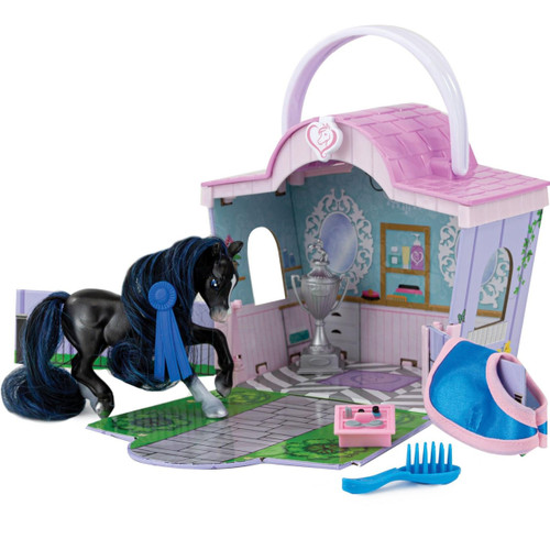 Breyer Mane Beauty Li'l Beauties Playset - Shimmer Grooming Salon