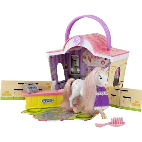 Breyer Mane Beauty Li'l Beauties Playset - Sprinkles Sweet Shop