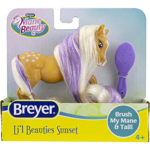 Breyer Mane Beauty Li'l Beauties Sunset packaging