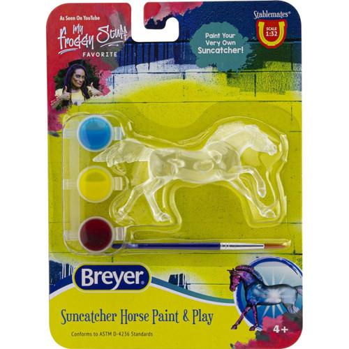 Breyer Suncatcher Horse Paint & Play Singles - Random Pick