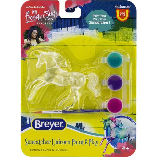 Breyer Suncatcher Unicorn Paint & Play Singles - Random Pick