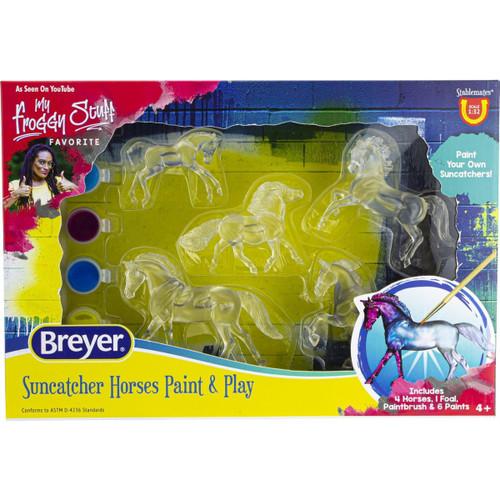 Breyer Suncatcher Horse Paint & Play kit packaging