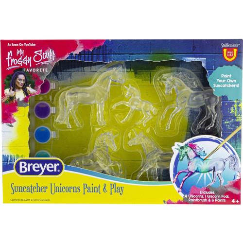 Breyer Suncatcher Unicorn Paint & Play