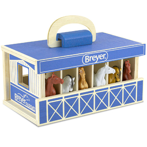 Breyer Stablemates Farm Wooden Carry Case