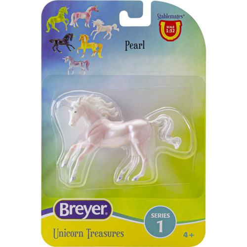 Breyer Stablemates Single Unicorn Pearl