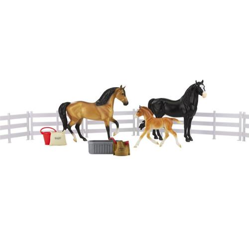 Breyer Classics Spanish Mustang Family