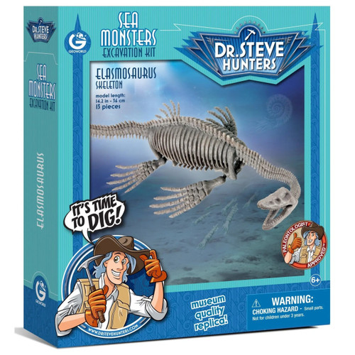 Dr Steve Hunters Elasmosaurus Excavation Kit