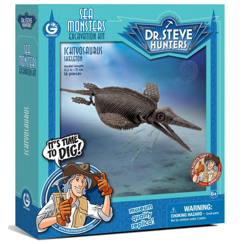 Dr Steve Hunters Ichthyosaurus Excavation Kit