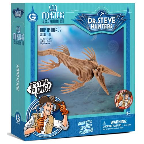 Dr Steve Hunters Mosasaurus Excavation Kit