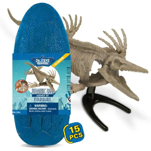 Dr Steve Hunters Mosasaurus Jurassic Egg