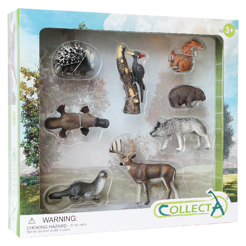 CollectA Woodlands Gift Set 8pc
