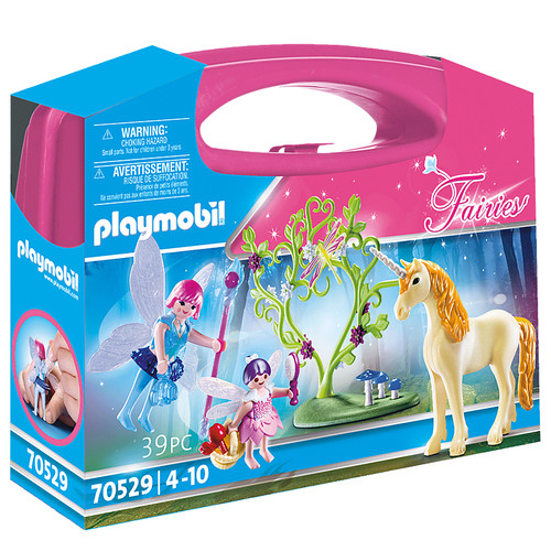 Playmobil Fairy with Unicorn Carry Case