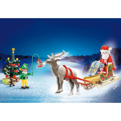 Playmobil Christmas Carry Case lifestyle