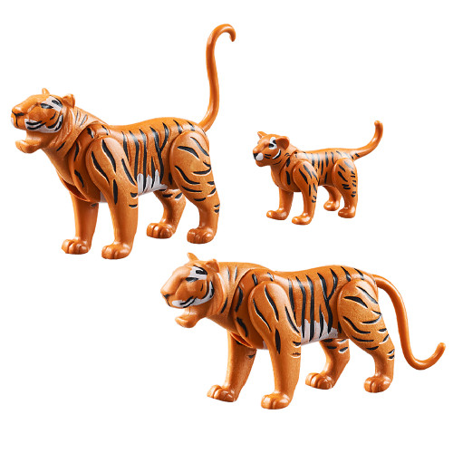 Playmobil Tigers with Cub inclusions