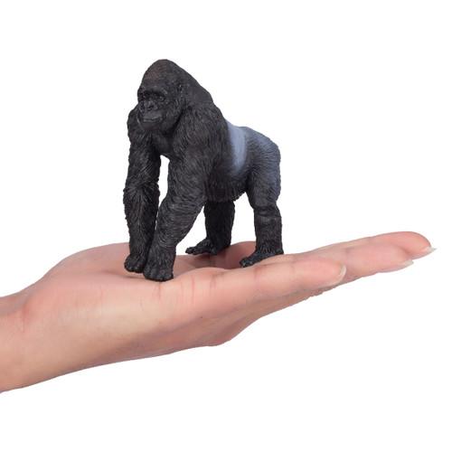 Mojo Gorilla Male Silverback size reference in hand