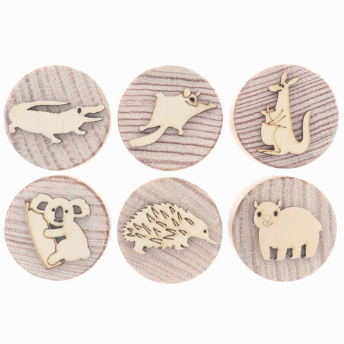 Let Them Play Stampers Australian Animals