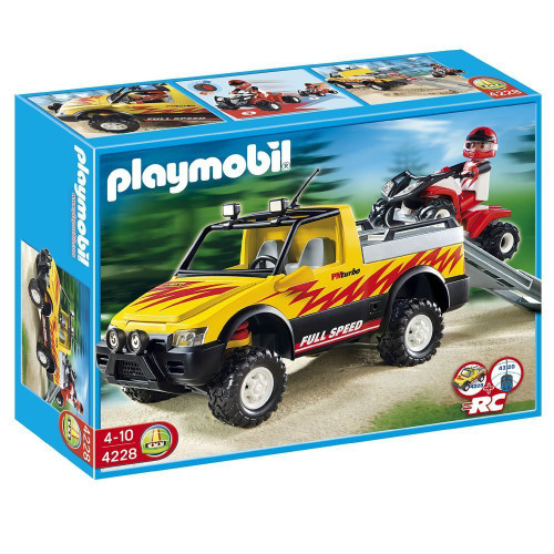 Playmobil Pick-Up with Quad