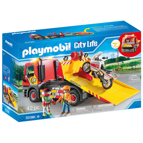 Playmobil Towing Service box