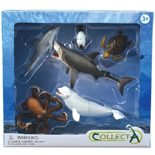 CollectA 6pc Sea Life Gift Set