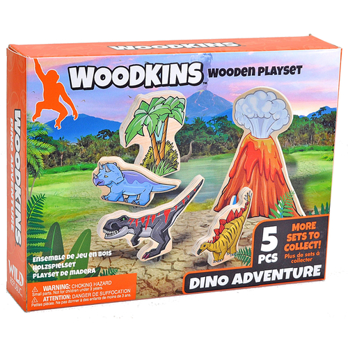 Woodkins Dino Adventure box
