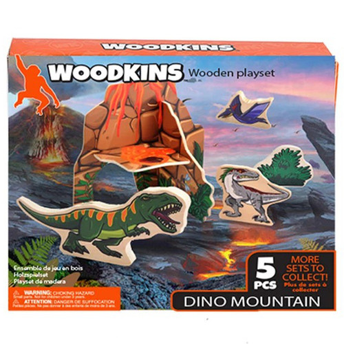 Woodkins Dino Mountain box